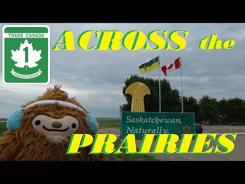 Time Lapse: Across the Prairies from Calgary, Alberta to Regina, Saskatchewan