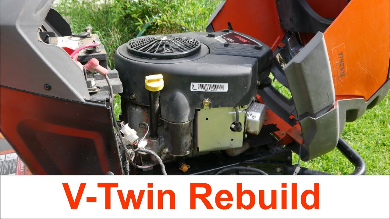 Briggs & Stratton Intek 23hp V-Twin Teardown and Rebuild