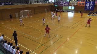 2019 熊本県高校総体 城北ー必由館ハンドボール 前半