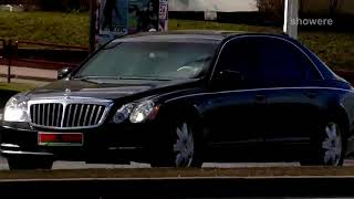 BMW не уступал дорогу «Майбаху»  Лукашенко!!!