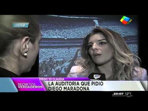 Maradona vs. Claudia: la historia del enfrentamiento