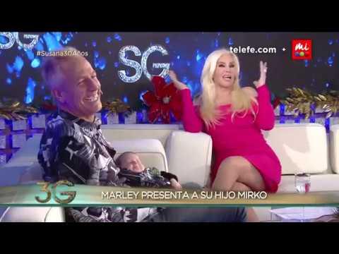 Marley presentó a su hijo Mirko (entrevista completa) - Susana Giménez 2017