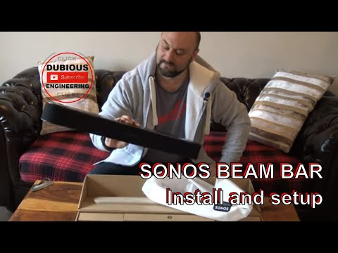 DuB-EnG: SONOS BEAM Sound Bar Unbox, Installation and Independent Review - Is it any good?