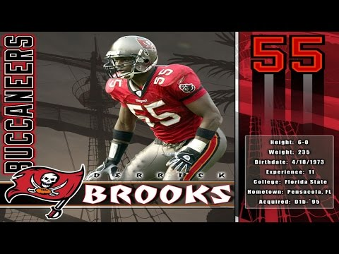 Derrick Brooks Interview - Bubba the Love Sponge Show