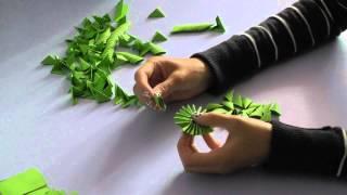 Origami 3d Cactus With Flower Tutorial