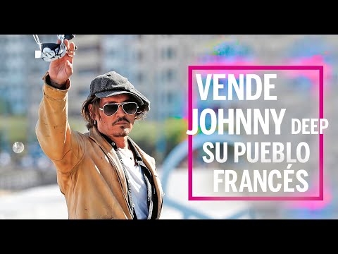 Vende Johnny Depp su pueblo francés