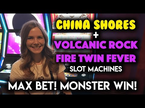 AMAZING RUN! HUGE WIN! Volcanic Rock Fire Twin Fever! Slot Machine!!!