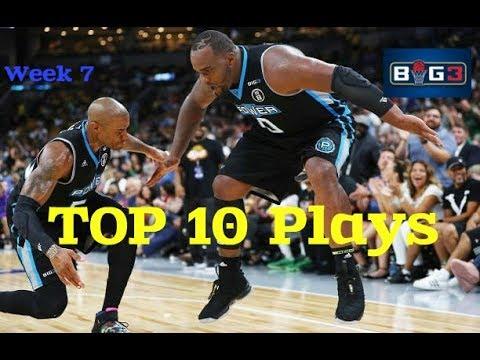 TOP 10 Plays | Week 7 | BIG3 Season 2018