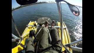 flying gulf shores m squared beach plane