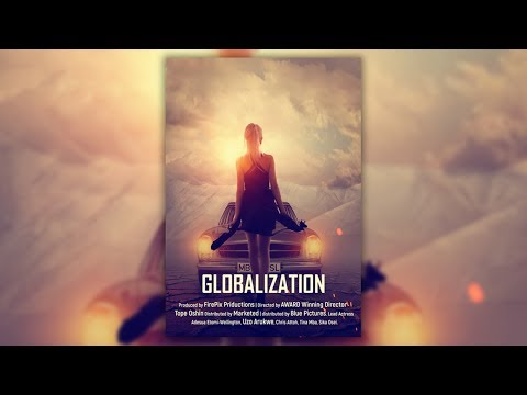 Globalization - Photoshop Poster Design Tutorial