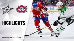 NHL Highlights | Stars @ Canadiens 02/15/20