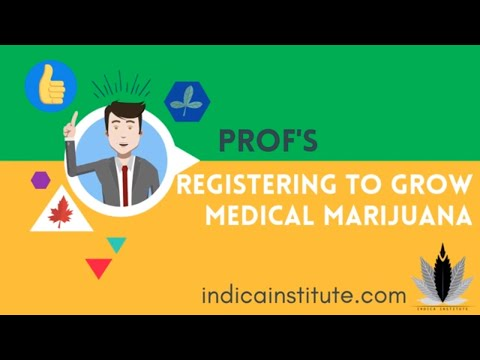 Medical Marijuana Home Growing Registration (Canada)