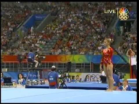 Alicia Sacramone (USA) : 2008 Beijing Olympics : TF FX