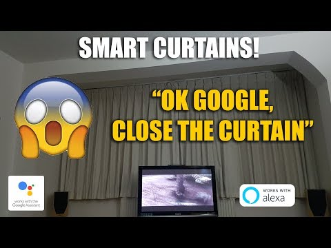 Amazing Smart WiFi Curtains by Ajax Online [Unboxing and Complete Setup]