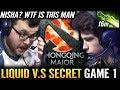 NO HUMAN Skill WTF Farm 17 y/o Nisha SECRET vs LIQUID TEAM - El Classico Dota 2