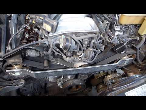 2000 4.2 V8 Audi A8L timing belt, cam chain tensioners, and engine revival