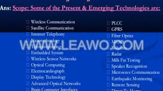 scope of electronics and communication engineering in india