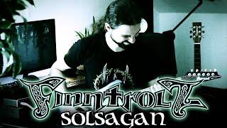SOLSAGAN (Finntroll) - GUITAR COVER