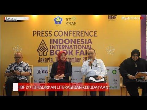 IIBF 2018 Hadirkan Literasi dan Kebudayaan