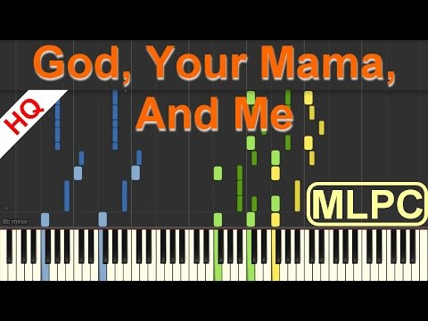 Florida Georgia Line feat. Backstreet Boys - God, Your Mama, And Me I Piano Tutorial & Sheets by MLP