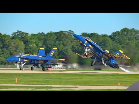 Blue Angels Spectacular at Oshkosh - Sat 29 July 17