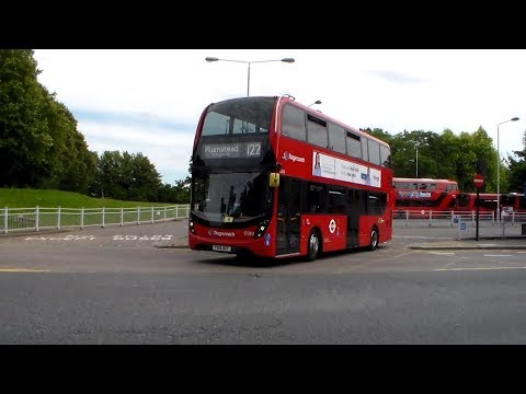 Buses at Crystal Palace Bus Station 11/08/2017