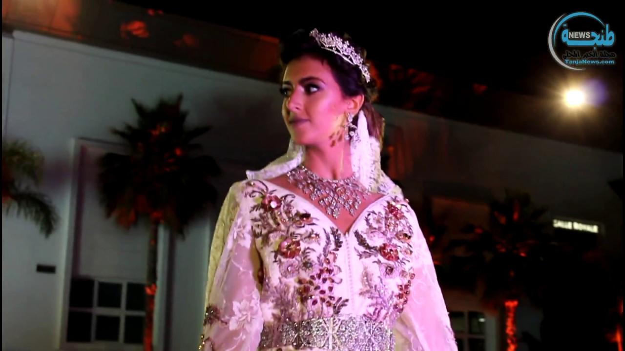 679c8a3cb عرض للأزياء بمعرض العروس والمناسبات الكبرى بطنجة - YouTube