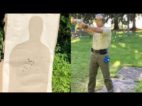 38 Super 1911 vs  Colorado LEO Handgun Qualification Course