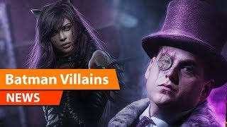 The Batman Will Feature Penguin and Catwoman