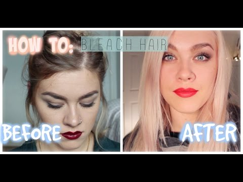 HOW TO: BLEACH YOUR HAIR | MELISSA MIXES