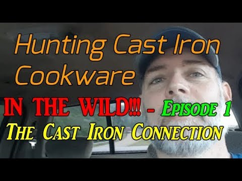 Hunting Cast Iron Cookware IN THE WILD!!! Episode-1