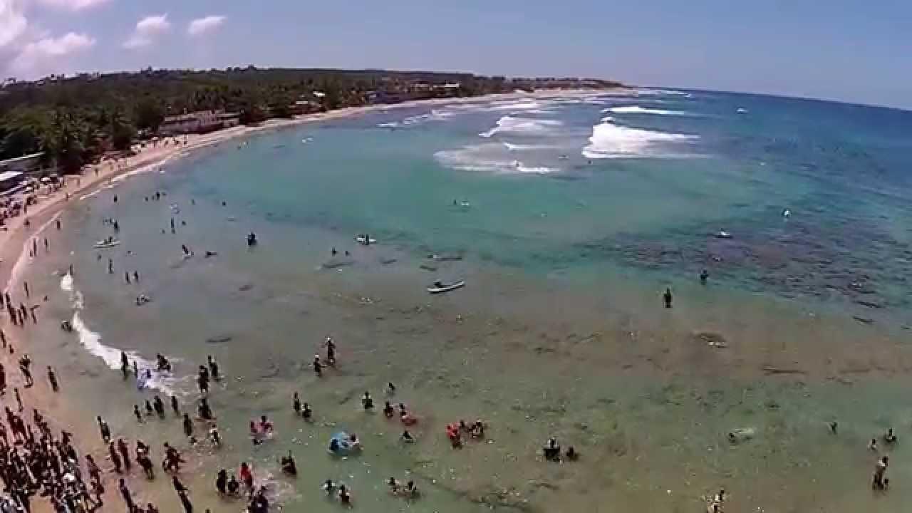 Isabela Puerto Rico Surf 4 Dem Playa Jobos 2017 Phantomdjivision2 Drone Puertorico Surf4dempr You