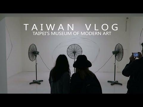 Taipei Fine Arts Museum | TAIWAN VLOG