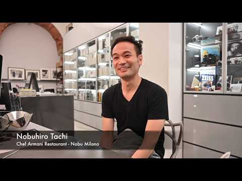 NOC-HELLO - Nobuhiro Tachi - Armani Nobu Milano - L'Arte Del Sushi