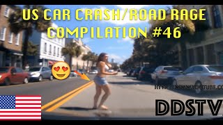 🇺🇸 [US ONLY] US CAR CRASH/ROAD RAGE COMPILATION #46 [Labor Day Edition]