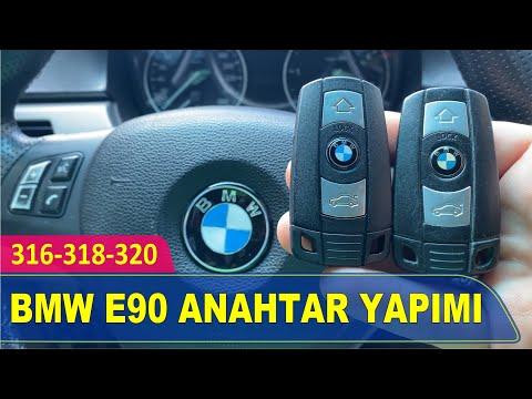 BMW E90 Anahtar Yapımı   316 318 320 Yedek Kopyalama - Oto Anahtarcı İstanbul