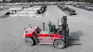 Kalmar Super Heavy Forklift DCG620