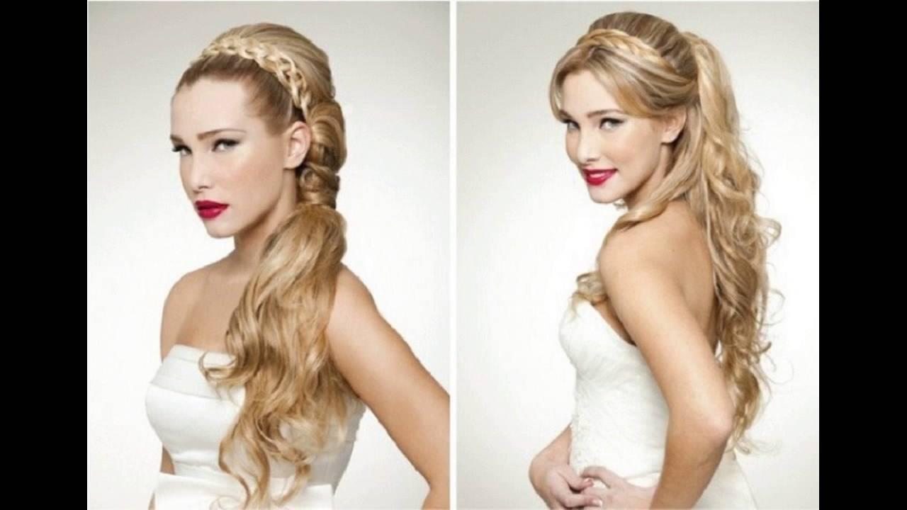 Classy Half Updo Hair Style Is Impressive For Medium Hair - YouTube