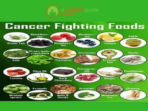Top 5 Cancer Fighting Foods Youtube