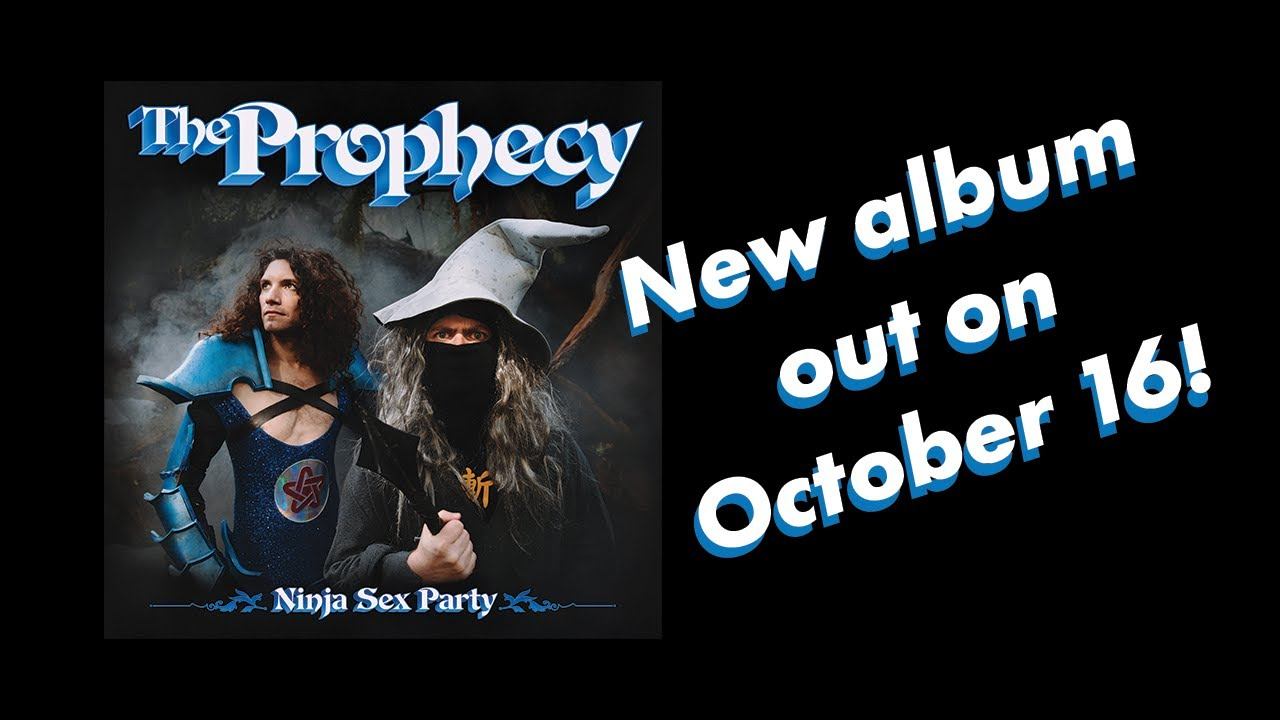 """NEW ORIGINAL ALBUM """"The Prophecy"""" coming out OCTOBER 16!!!"""