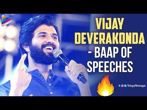 Vijay Deverakonda Career Best Speeches   Taxiwaala   Arjun Reddy   Geetha Govindam  Telugu FilmNagar