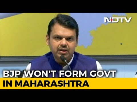 Will Not Stake Claim In Maharashtra, Says BJP Amid Tussle With Shiv Sena