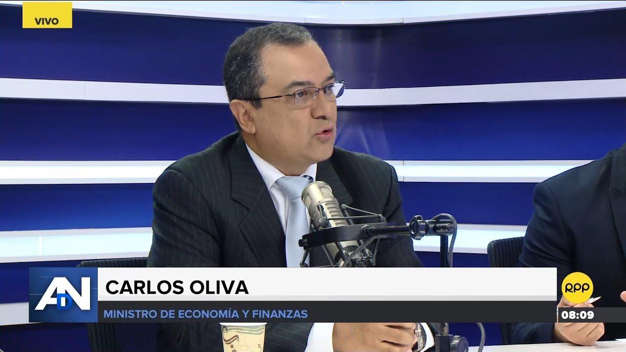 Ministro de Economía: Carlos Oliva