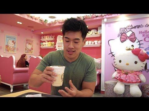 Hello Kitty Cafe in Korea! :)