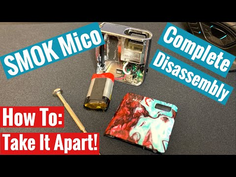 How To Take Apart Smok Mico - Complete Disassembly
