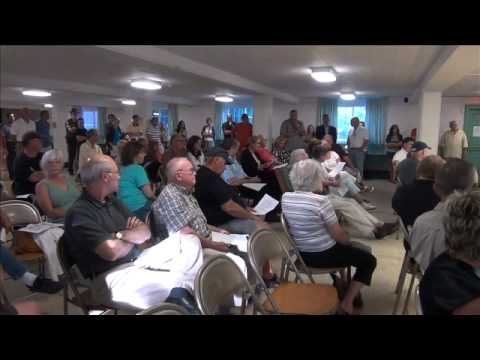 Clinton Town Meeting 6 27 12 Ice Rink.mov
