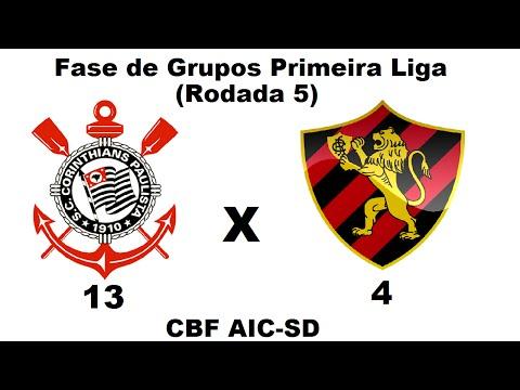 Corinthians 13 x 4 Sport - Fase de Grupos Primeira Liga (Rodada 5)