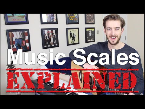 Music Scales EXPLAINED - Major Scale VS Minor Pentatonic