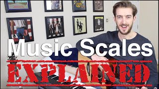 Scales Made Simple with Fun Song Examples! (Major Scale VS Minor Pentatonic)