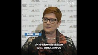 澳大利亚外长指中俄利用疫情散布虚假信息